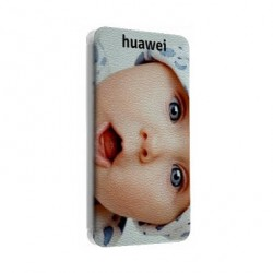 Etui Cuir personnalisable Huawei Ascend P7