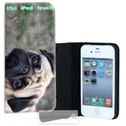 Etui Cuir personnalisable Ipod Touch 4