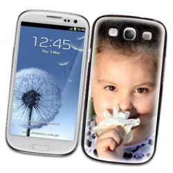 Coques souples PERSONNALISEES en Gel silicone pour Samsung galaxy S3