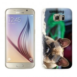 Coques souples PERSONNALISEES en Gel silicone pour Samsung galaxy S6 Edge