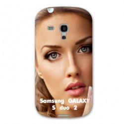 Coque personnalisable SAMSUNG GALAXY S DUO 2