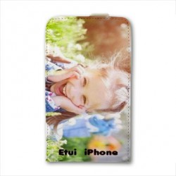 Etui cuir personnalisable IPHONE SE