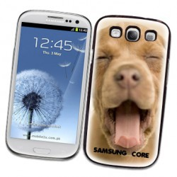 Coque transparente personnalisable GALAXY CORE PLUS ( SM-G350 )