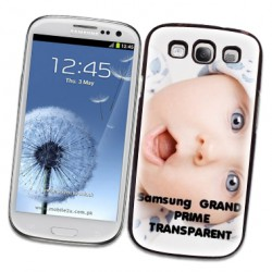 Coque personnalisable Transparente Samsung Galaxy Grand Prime ( SM- G530 FZ )