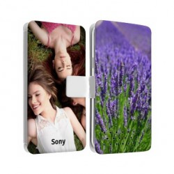 Etui Cuir personnalisable RECTO VERSO pour Sony Xperia X COMPACT