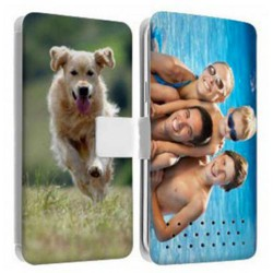 Etui Cuir personnalisable recto verso WIKO TOMMY