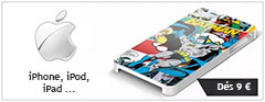 coques a personnaliser pour iphone, ipad et ipod touch