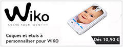coques a personnaliser pour wiko