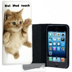 Etui Cuir personnalisable Ipod Touch 5
