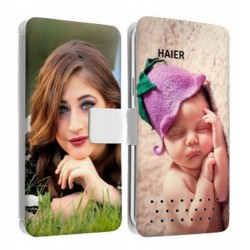 Etui personnalisable recto verso Haier Phone W716S