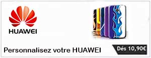 Coque personnalisée HUAWEI